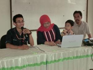 Bersama Dr. Farida Aryani, M.Pd pada kegiatan CDt untuk Mahasiswa STAI Yapis Takalar