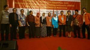 Pengurus PD ABKIN Sulawesi Selatan pada Kongres XII ABKIN di selenggarakan di Hotel ASTON Denpasar Bali pada tanggal 14-16 Nov 2013
